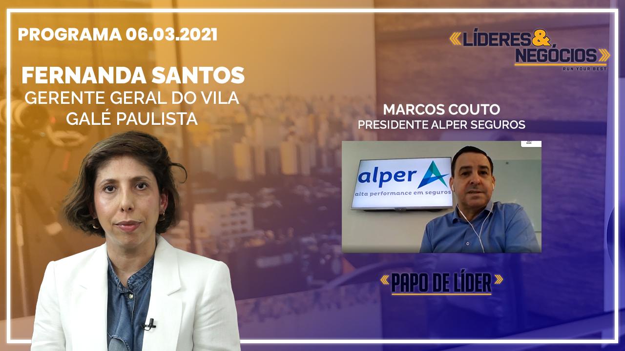 Fernanda Santos e Marcos Couto | 06.03.21